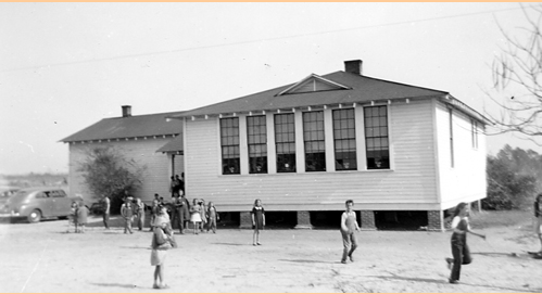Mt. Herman Elementary School, South Carolina Department of Archives and History Insurance File Photographs