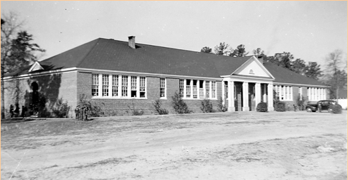 Horry Elementary School, South Carolina Department of Archives and History School Insurance Photograph